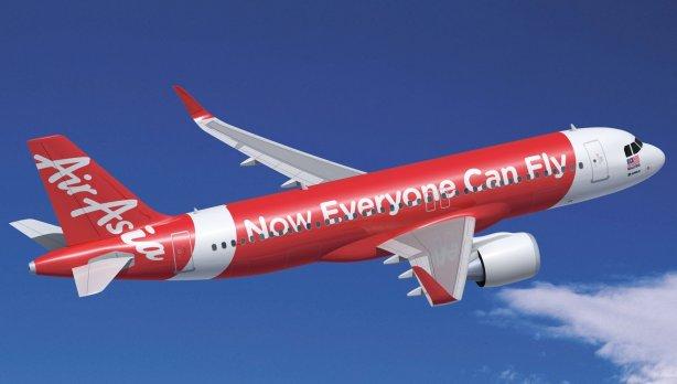 air asia plane preview