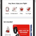 mobile screen air asia